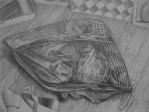Sonia Kwak, Age 15, Grade 9, WOW Art Studio, Honorable Mention
