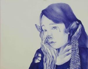Paulina Beron, Age 16, Grade 11, Art and Design High School, Gold Key
