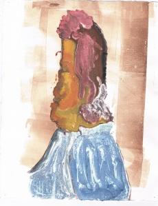 RoxanaSantana, Age 17, Grade 12, Art and Design High School, Silver Key