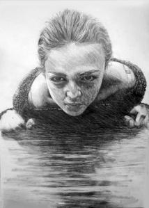 Esther An, Age 16, Grade 11, Ashcan Studio of Art, Silver Key