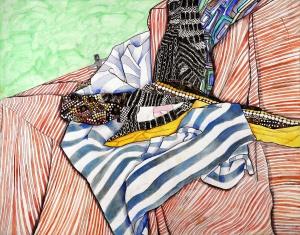 Joanne Han, Age 13, Grade 8, Ashcan Studio of Art, Gold Key