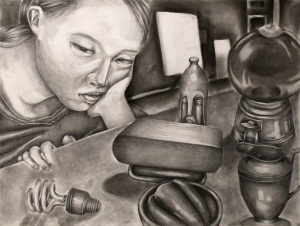 Juhee Kang, Age 16, Grade 11, Oogie Art, Gold Key