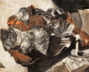 Cody Khim, Age 12, Grade 7, Ashcan Studio of Art, Gold Key