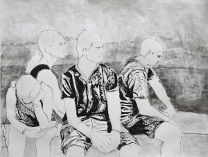 Noah Offitzer, Age 18, Grade 12, Oogie Art, Silver Key