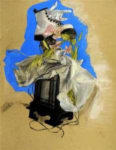 Ji Yeon Lee, Age 17, Grade 11, Ashcan Studio of Art, Gold Key