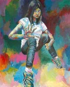 Judy Su, Age 18, Grade 12, Oogie Art, Silver Key