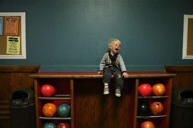 Finn Does Not Like Bowling by Yuval Ortiz-Quiroga