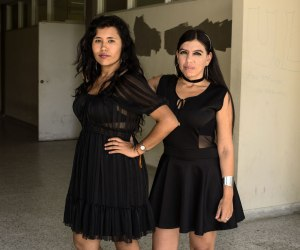 Amigas In Black by Antonio Pulgarin