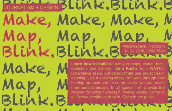 Make Map Blink
