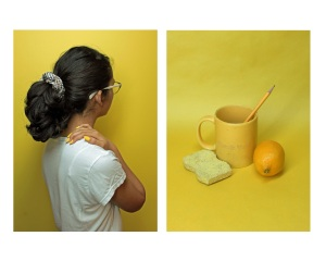 Untitled (diptych), Photograph by Sammie Concilio, Grade 12 Age 17, Edward R. Murrow High School, Brooklyn, NY
